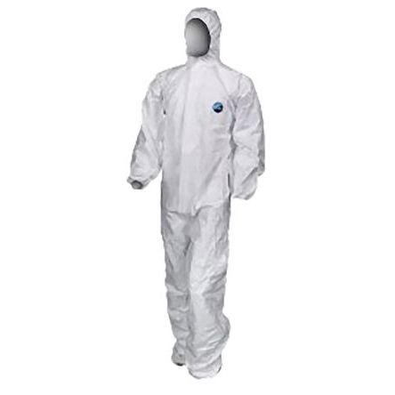 CP818/20 White Disposable Coverall, S product photo
