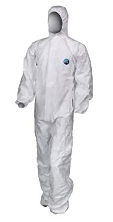 CP818/24 White Disposable Coverall, XXL product photo