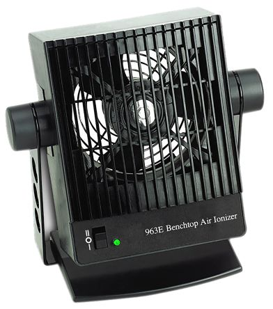 100  240V ac 1 Fan Bench Top Ioniser