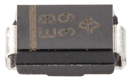 Vishay 100V 1A, Silicon Junction Diode, 2-Pin DO-214AC ES1B-E3/61T