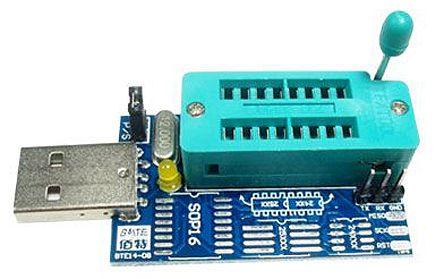 Seeit FLASHPRO FLASHPRO, Serial Components Programmer for EEPROMs 24C /  25C, SPI FLASHs 25xxxx Programmer, ZIF16 Socket