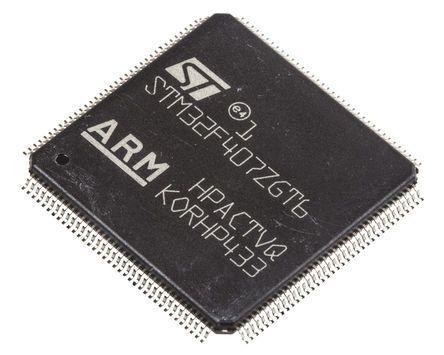 1MB ARM; 168MHz; Sram 192kB; LQFP 144 1 X STM32F407ZGT6 microcontrolador; Flash