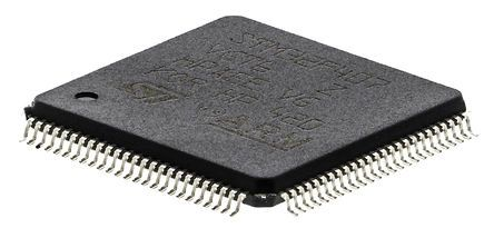 STMicroelectronics, 32bit ARM Cortex M4F Microcontroller, 168MHz, 1.024 MB Flash, 100-Pin LQFP