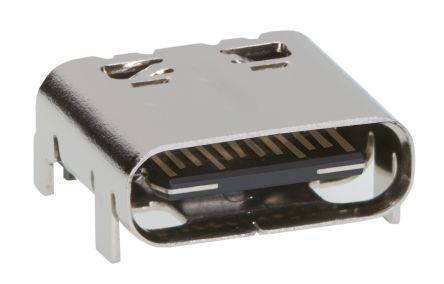 105450-0101 Female USB C Connector, Right Angle Surface Mount