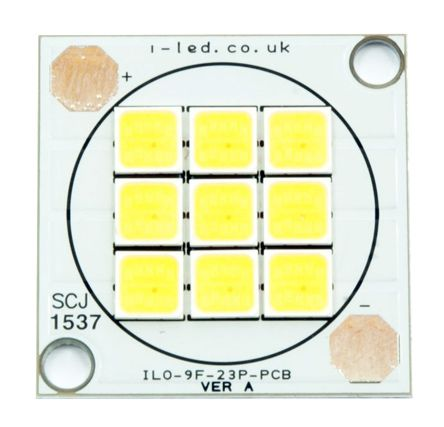 Intelligent LED Solutions ILO-09FF4-23NW-EC211., DURIS S 8 White SCOB LED, 4000K 80CRI
