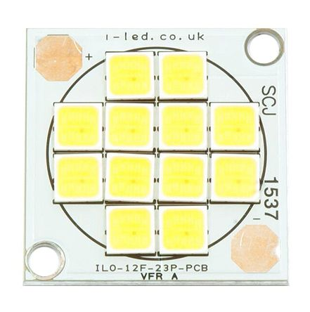 Intelligent LED Solutions ILO-12FF4-23NW-EP211., DURIS S 8 White SCOB LED, 4000K 80CRI