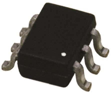 DiodesZetex 74LVC2G17DW-7 Non-Inverting Schmitt Trigger Push-Pull Buffer, 6-Pin SOT-363