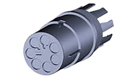 TE Connectivity Nector M Series, Male 7 Pole 7 Way Pin Housing, Cable Mount, 400 V