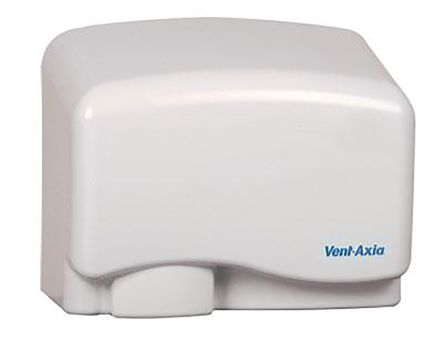 Automatic Metal 1.25kW Hand Dryer, 160mm x 225mm