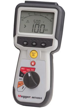 Megger MIT400 2, Insulation Tester 20GΩ CAT IV 600 V