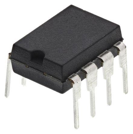 Microchip ATTINY85V-10PU, 8bit AVR Microcontroller, ATtiny, 10MHz, 8 kB, 512 B Flash, 8-Pin PDIP