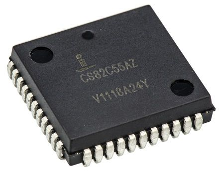 Renesas Electronics IS82C55AZ, IO Controller, 44-Pin PLCC