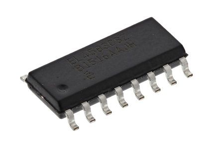 HA9P2556-9Z Renesas Electronics, 4-quadrant Voltage Multiplier, 50 MHz, 16-Pin SOIC W
