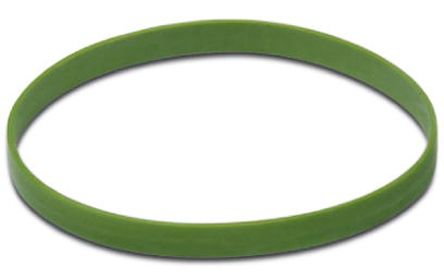 Green Colour Coding Ring,Shell Size 23 for use with M23 Connector product photo