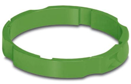 Phoenix Contact Green Colour Coding Ring,Shell Size 23 for use with M23 Connector