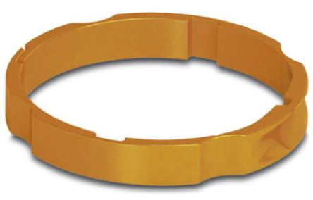 Orange Colour Coding Ring,Shell Size 23 for use with M23 Connector product photo