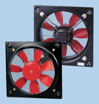 PLATE MOUNTED AXIAL FLOW FAN D355MM IP65