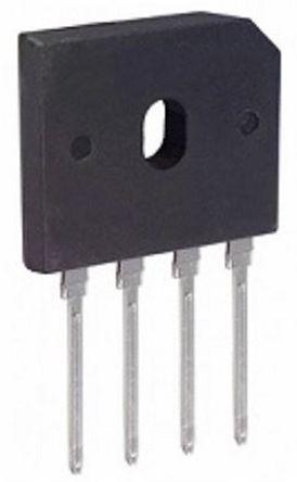 HY Electronic Corp GBU806, Bridge Rectifier, 8A 600V, 4-Pin GBU
