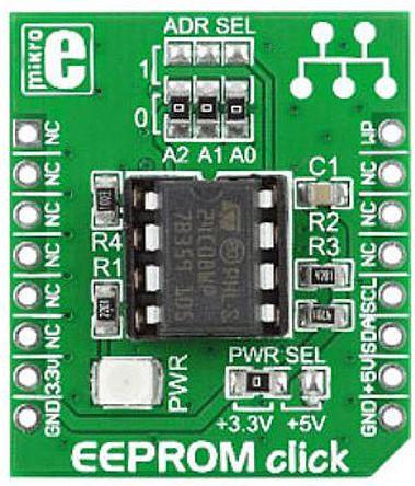 MikroElektronika MIKROE-1200, EEPROM Click EEPROM Add On Board for mikroBUS