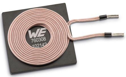 Wurth Elektronik Radial Wireless Charging Transmitter Coil, Ferrite Core,  18A, 12mΩ, 100 Q Factor