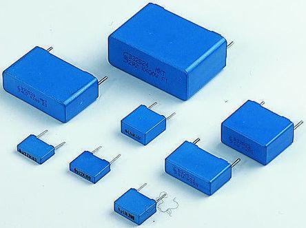 22 µF Film Capacitor Polyester ± 10/% PET 250 V R60 Series