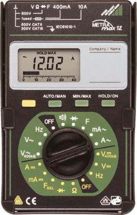 METRAMAX 12 Digital Multimeter 10A 600V product photo