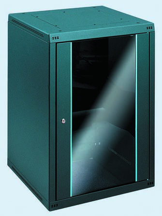 Imnet610 Series 19-Inch Floor Cabinet, Basic Extension, 12U, 664 x 600 x 600mm