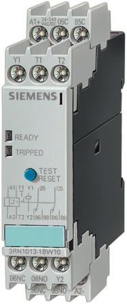 Siemens Thermistor motor protection relay Monitoring Relay With DPDT  Contacts, 230 V ac