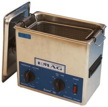 Emag EMMI-40 Ultrasonic Cleaning Tank, 200W, 4L with Lid