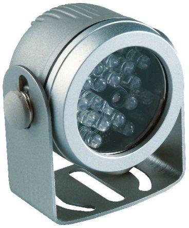 Iluminador por infrarrojos Abus TV6700, haz 35°, Rango 10 m, 12 V dc, IP67