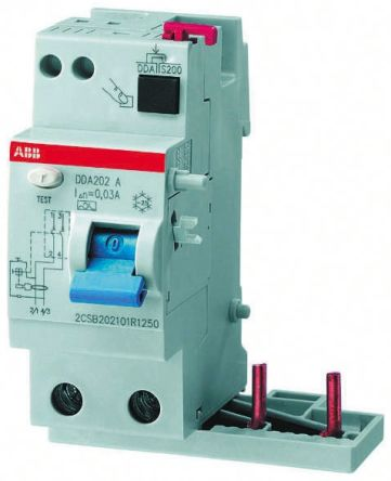 3P 40 A, RCD Switch, Trip Sensitivity 300mA, DIN Rail pro M compact DDA 200 A product photo