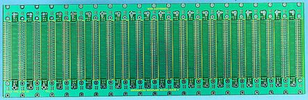 222-63630, 96 Way Backplane FR4 Double Sided 128.6mm 20.32mm(4HP)