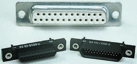 Binder, 910 Through Hole, 37 Pin D-sub Connector Plug Micro-D