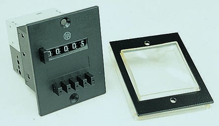 Front Panel with Transparent Protection Cover Baumer Z100 02A for use with  FS304 Type Socket Box