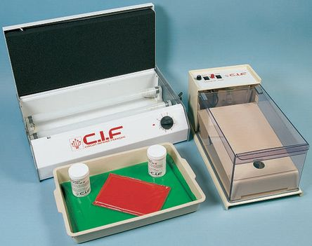 SINGLE SIDED PCB PROCESS WASH AND ETCH   CIF   RS Components Israel