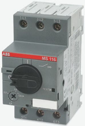 1sam250000r1007 abb manual 3p motor protection circuit breaker rh uk rs online com ABB Manual Motor Starter with Enclosure ABB Manual Motor Starter with Enclosure