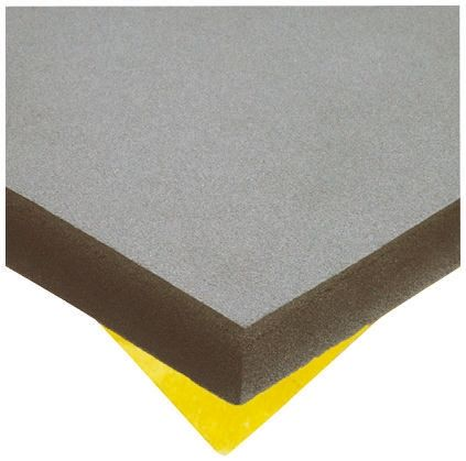 Paulstra Adhesive Rubber Soundproofing Foam, 500mm x 500mm x 30mm