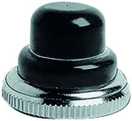 Push Button Boot, for use with 10400 Series Push Button Switch,Black