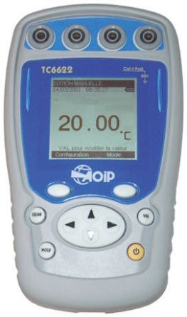 Aoip Instrumentation TC6622 RTD Calibrator, 0 → 3600 Ω, 0 → 400 Ω - With RSCAL calibration