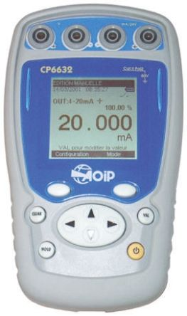 Aoip Instrumentation CP-6632 Current & Voltage Calibrator 0 → 25 mA UKAS Calibration