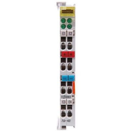 I/O SYSTEM 750 PLC I/O Module 8 (Channel) Inputs, 24 V dc, 100 x 12 x 64 mm product photo