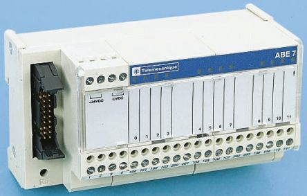 Schneider Electric PLC I/O Module 0 5 (Per Channel) A, 1 8 (Per Common) A  19 → 30 V dc