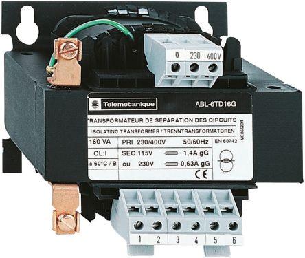 Transformador de panel de control 100 VA 15-0-15-230-400V 0-230V