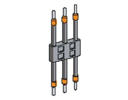 3 POLES FLEXIBLE LINK, GV1G02 product photo