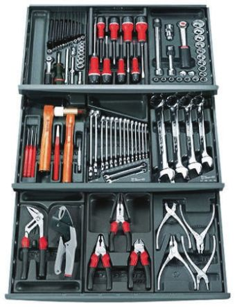 101 Piece VDE/1000 V Electricians Tool Kit product photo