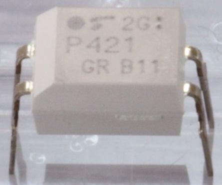 Toshiba, TLP620-2(GB,F) AC Input Transistor Output Dual Optocoupler, Through Hole, 8-Pin PDIP