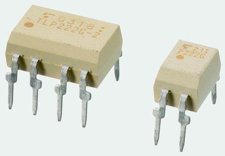 Toshiba, TLP227G-2(F) DC Input MOSFET Output Optocoupler, Through Hole, 8-Pin PDIP