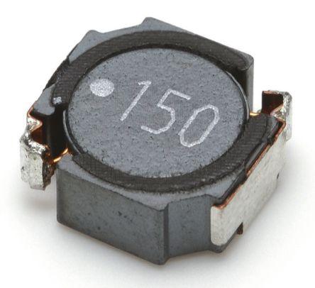 TDK Shielded Wire-wound SMD Inductor 68 μH ±20% Wire-Wound 1.6A Idc