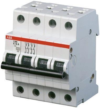 Sicherungsautomat Leitungsschutzschalter MCB 10A Typ C 3-polig 6KA 1 Stück