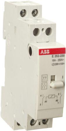 ABB DPDT NonLatching Relay 110 V dc 250 V ac Coil 16 A